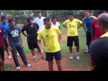 Correcting running injuries - Dr. Rajat Chauhan in Hyderabad
